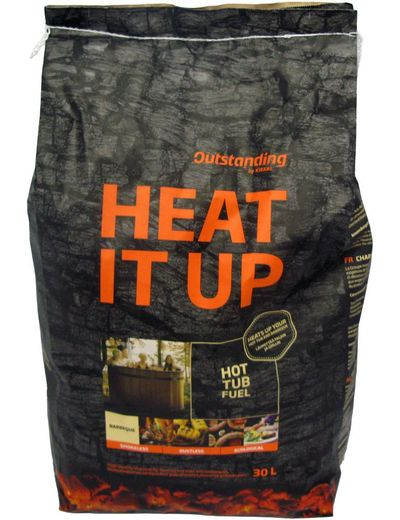 Kirami HEAT IT UP puuhiili 30 l